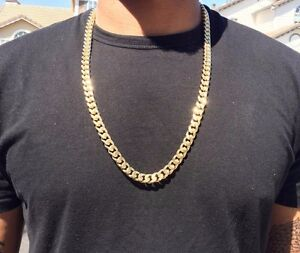 30-Inch-14K-Gold-Cuban-Link-Curb-Chain-With-Diamond-Cuts