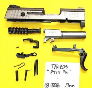 Details about Taurus PT111 Millennium 9 mm STAINLESS STEEL PARTS LOT ALL 4  ONE PRICE 18-388