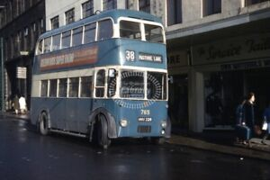 PHOTO-City-of-Bradford-Transport-BUT-Trolleybus-765-NNU229-in-1963-on-route-38
