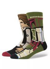 Stance Socks Star Wars Boba Fett Hans Solo Size Large 2-5.5 Graphic New