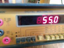 High End Bk Precision 2831a Bench Digital Multimeter Calibration Good