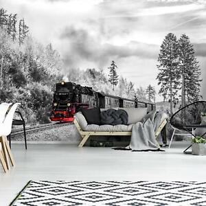 VLIES-Fototapete-XXL-Dampflokomotive-Tapete-Vliestapete-15F0365080