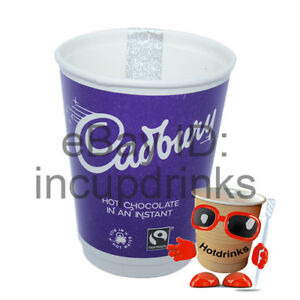 Details About Cadbury Hot Chocolate 2go In Cup Drinks 12oz Foil Sealed 1 Sleeve Of 10 Cups