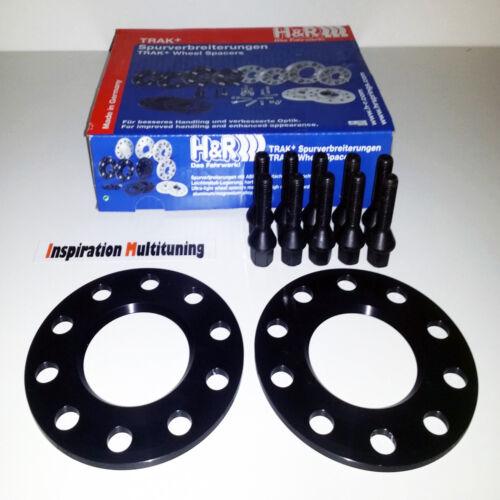 H /& R PASSARUOTA DR NERO per BMW m3 e36 m3b//b 10 = 2x5mm con bulloni Abe