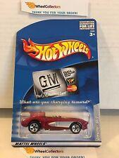Corvette SR-2 * RED * GM Promo * Hot Wheels * M14