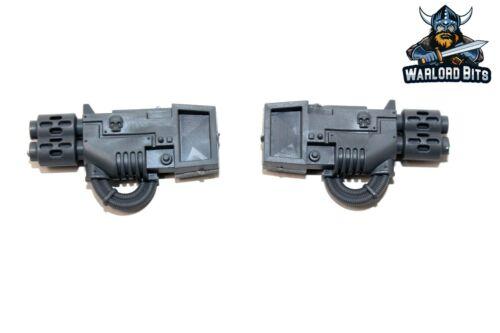 BIN56 Warhammer Imperial Guard Leman Russ Multi-Melta Sponson Bits