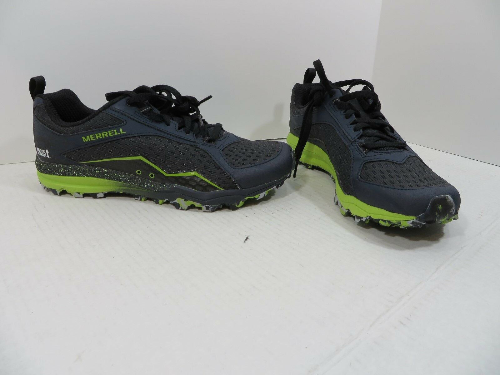 Merrell All Out Crush Tough Mudder J37405 Midnight - Size 10