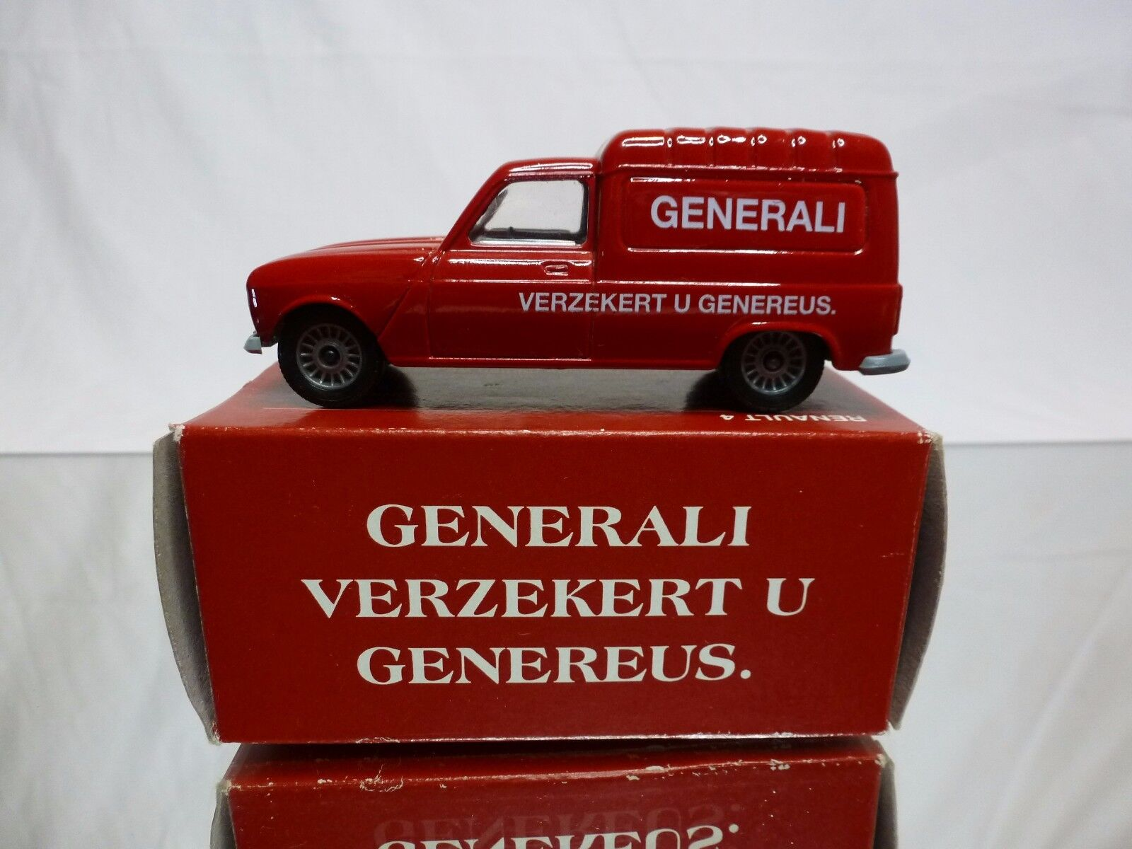 SOLIDO 1213 RENAULT 4 FOURGONNETTE - GENERALI 1 43 PROMO - EXCELLENT SPECIAL BOX