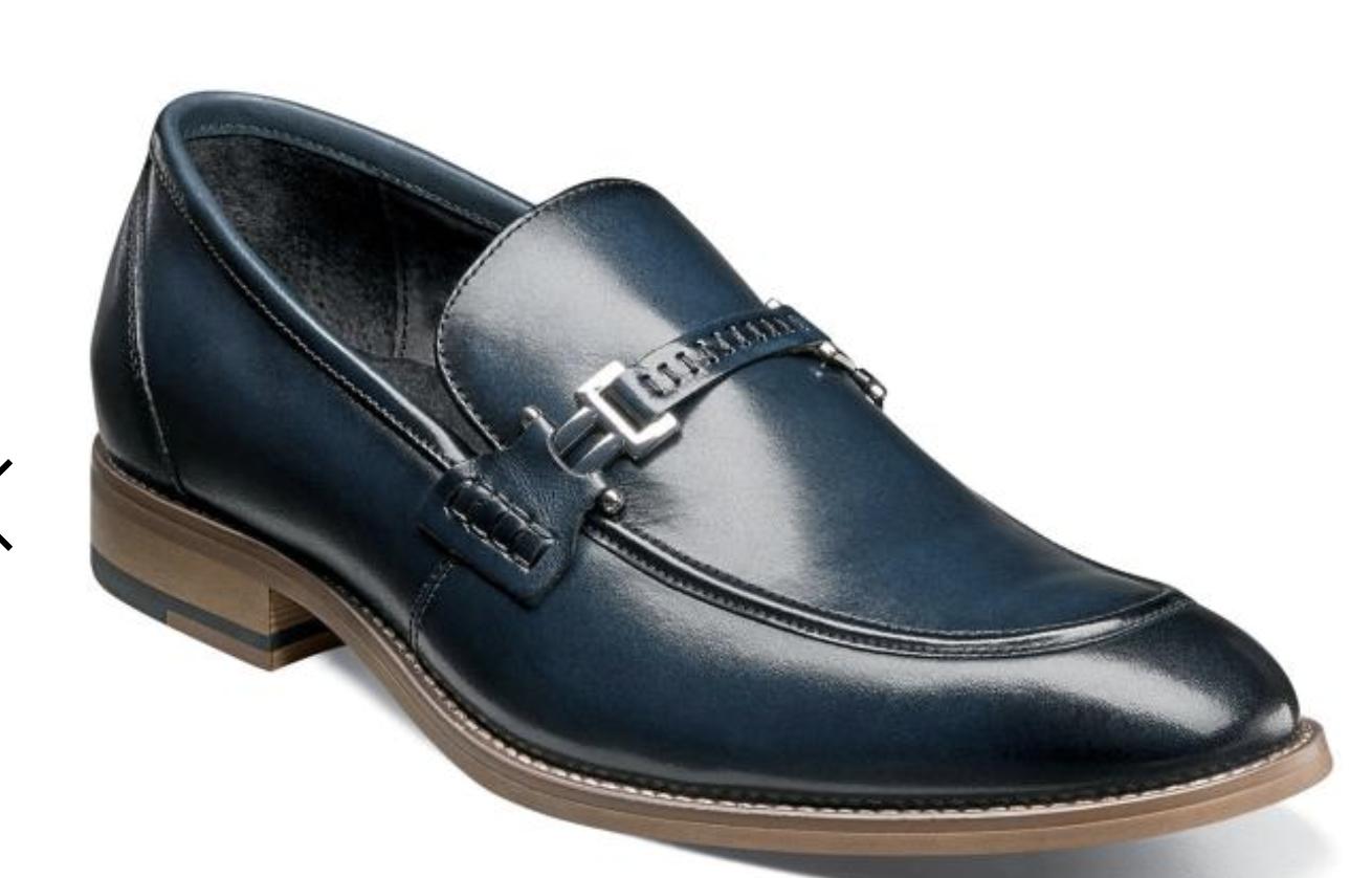 prezzo all'ingrosso e qualità affidabile Stacy Adams Duval Loafer Uomo Uomo Uomo scarpe Indigo  25199-401  all'ingrosso a buon mercato