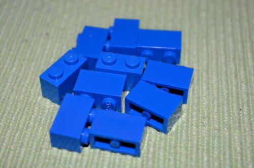 10 ~ Blue 1x2 Standard Bricks ~ New Lego Parts ~