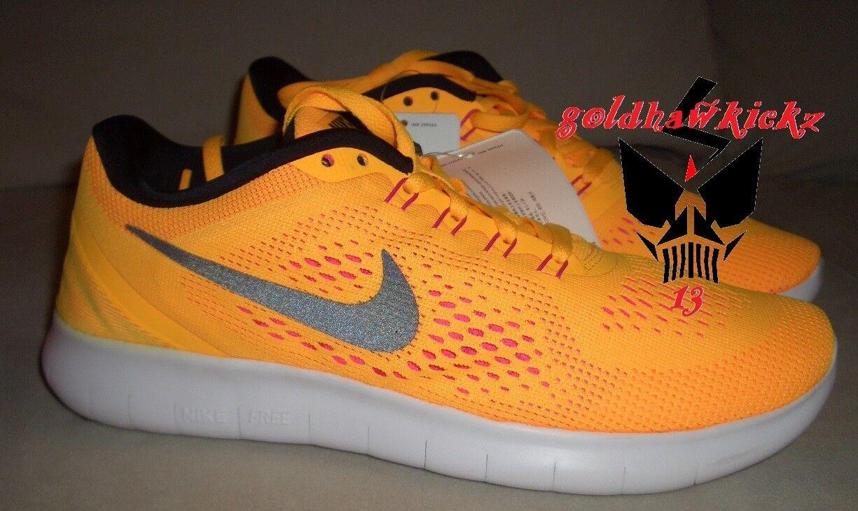 Nike libera nel giallo 831509 800 laser rosa - arancione in totale wmn arancione
