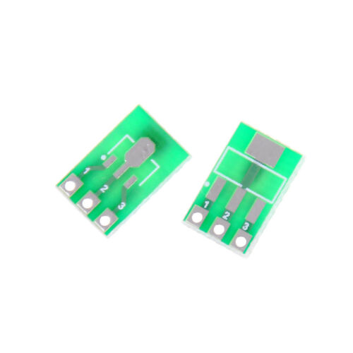 10pcs Double-Side SMD SOT223 to DIP SIP3 Adapter PCB Board DIY Converter RSZ8