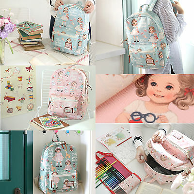 AFROCAT Paper Doll Mate Youth Backpack School Travel Bag Polyester Waterproof