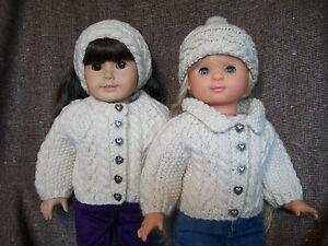 18 Quot Doll Knitting Pattern American Girl Aran Raglan