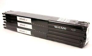 12-paire Brique Vic Firth ® Nova Noir 7 A Wood Tip Drum Sticks N7ab Hickory Vrac-afficher Le Titre D'origine