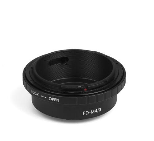 FD M4//3 Objektivadapter Canon FD Objektiv an Micro 4//3 MFT Four Thirds Adapter