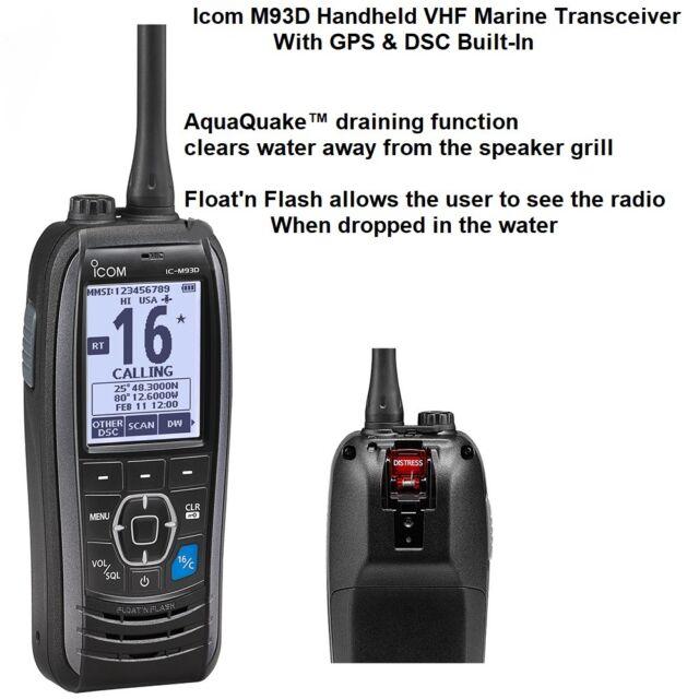 ICOM M323G Fixed DSC Radio With GPS.