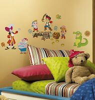 Jake & Neverland Pirates Giant Wall Decal Appliques - Decals, Nursery, Kids
