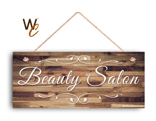 """Beauty Salon Sign 6/""""x14/"""" Sign Rustic STORE Sign Business Sign Company Sign"""
