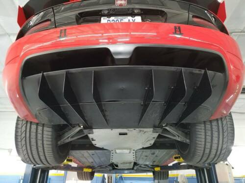 """Dodge Viper    4 Rear Fins Diffusers Diff users 5 1//2/"""" Extended"""