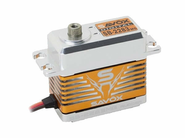 Savox SB2283MG High Voltage CNC Brushless Digital Servo