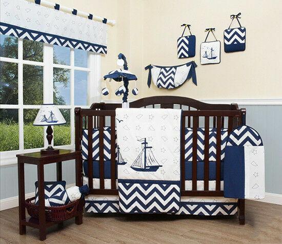 Nautical Explorer Baby Crib Bedding Set 13pcs For Sale Online Ebay