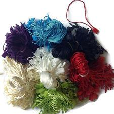 700 Pcs 7 Color 7 Hang Tag Nylon String Snap Lock Pin Loop Fastener Hook Ties