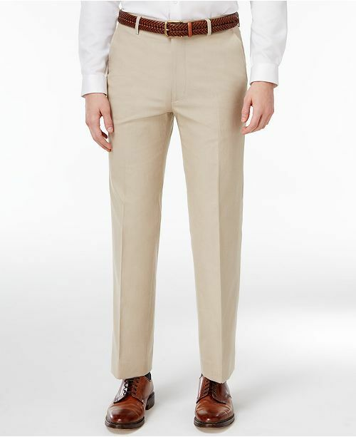 Tommy Hilfiger Mens Griffin Chino Pants Tailored Fit 32W x 30L NWT Free Ship