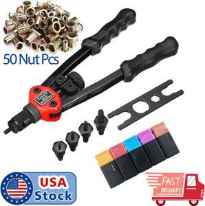 Rivet-Gun-Kit-Rivet-Thread-Setting-Tool-Nut-Setter-Nut-Set-Metric-SAE-Riveting