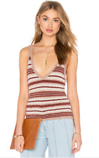 ad0942c89db80 item 6 NEW Free People Ditsy Stripe Knit Tank Top Cami 2 Color Combo Yellow  Neutral -NEW Free People Ditsy Stripe Knit Tank Top Cami 2 Color Combo  Yellow ...