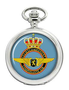Belgien-Air-Force-Composante-Luft-Taschenuhr