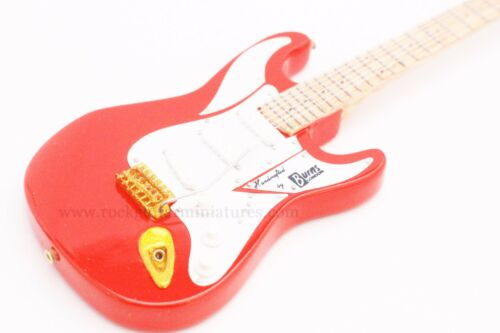 RGM104 Hank Marvin Shadows Miniature Guitar with leather strap