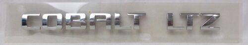 "Fits; Chevrolet Cobalt /"" COBALT LTZ /"" Deck lid Trunk Emblem Nameplate 2006 2007"