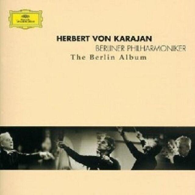 HERBERT VON/BP KARAJAN - KARAJAN THE BERLIN ALBUM 2 CD NEU