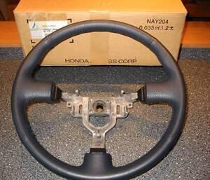 Honda-Civic-2001-Leather-Streering-Wheel