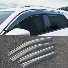 VE21690 Window Visors Guard Vent Wide Deflectors For VW Transporter T4 1992-2003