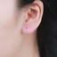 Indexbild 1 - Damen-Kleine-Creolen-Rund-echt-Sterling-Silber-925-Ohrringe-Kreolen