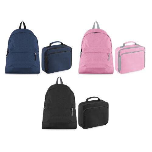 Personalised Name Backpack and Lunch Bag Set Unicorn Bag Back to School CBPU