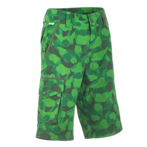 Exclusive Bambini Shorts Bermuda Pantaloni sportivi Wanderhose, tarnfarbe, Tg. 110-164