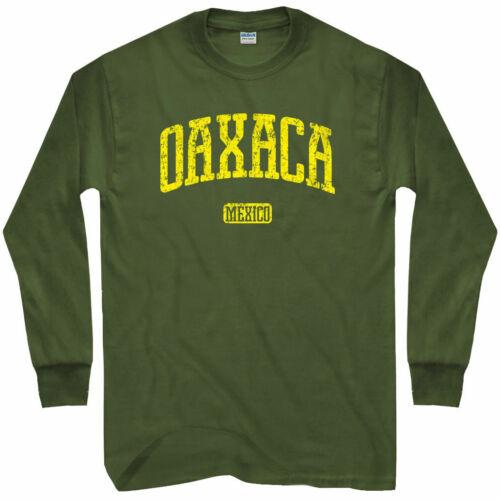 LS Oaxaca Long Sleeve T-shirt Men // Youth Mexico Queso Huatulco Huaxyacac
