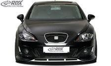 RDX Frontspoiler SEAT Leon 1P Facelift 09+ Front Spoiler Lippe Vorne Ansatz ABS