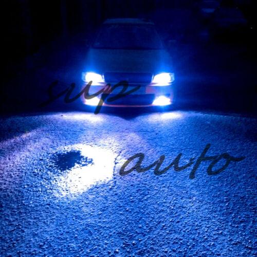 H4 9003 HB2 LED Headlights Bulbs Conversion Kit High Low Beam 8000K ICE BLUE 55W
