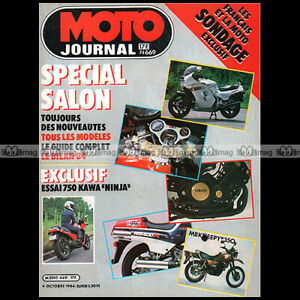 MOTO-JOURNAL-669-TEST-KAWASAKI-GPZ-750-R-NINJA-HUSQVARNA-WR-240-SALON-PARIS-1984
