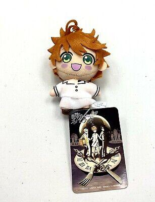 The Promised Neverland Anime Mini Mascot Toy Plush Keychain Hero Emma SG7881
