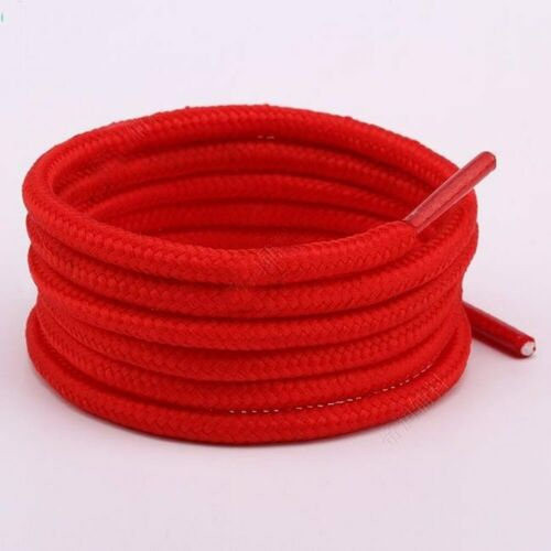 Unisex Shoelace Rope Multicolor Sneakers Waxed Round