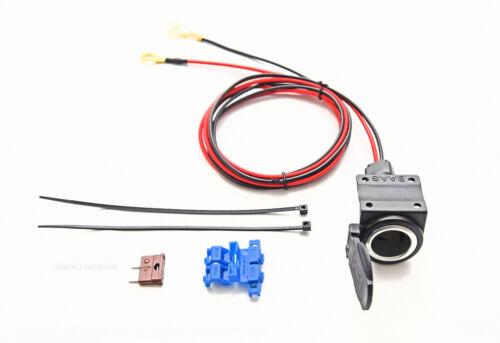 12v instalación enchufe encendedor enchufe con resorte plegable tapa baas za02