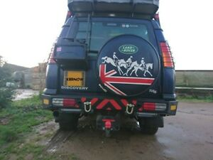 LANDROVER DISCOVERY CAMEL TROPHY SERIES II TD5 REAR LIGHT GUARDS 1998-2004