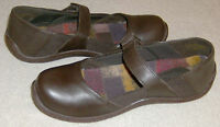 Ladies Born Shoes Connie Brown Espresso Sizes 6.5m 7.5m 8m Leather Comfy