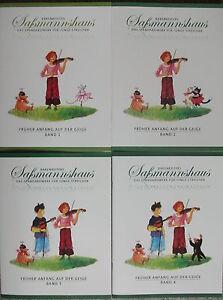 Sassmannshaus-Egon-Frueher-Anfang-auf-der-Geige-Band-1-2-3-oder-4