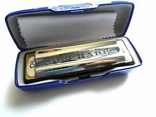 St. Louis Pro Series BLUES MUNDHARMONIKA F Belcanto blues harp 20 Stimmzungen